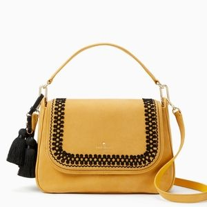 Brand new Kate Spade Robson Lane luxe Ebba Saffron